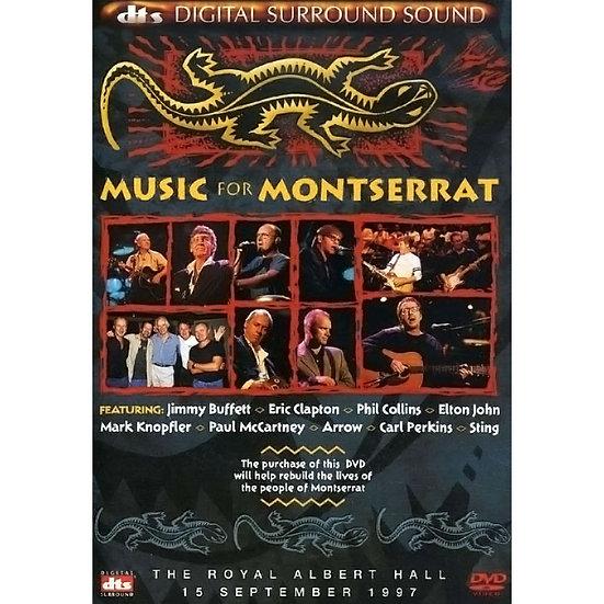 火燒島 群星慈善演唱會 V.A.: Music For Montserrat (DVD) 【Evosound】