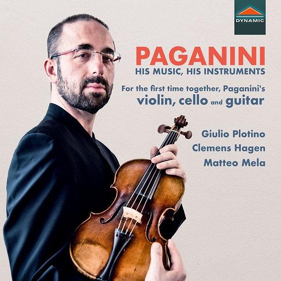 帕格尼尼:魔鬼的名琴 Paganini: His Music, His Instruments (CD)【Dynamic】