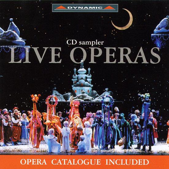 錯過的一齣戲~歌劇首演之夜 V.A.- Live Operas (CD)【Dynamic】