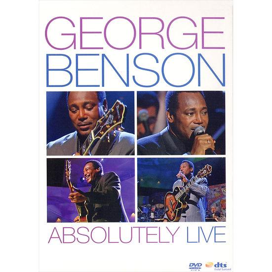 喬治.班森:絕對現場 George Benson: Absolutely Live (DVD) 【Evosound】