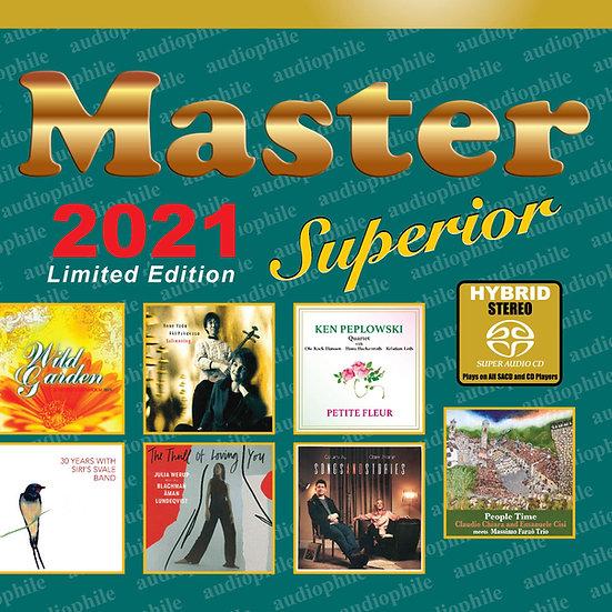 Master發燒碟2021 Master Superior Audiophile 2021 (SACD) 【Master】