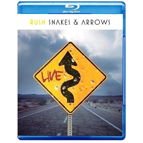 匆促樂團:蛇與箭 Rush: Snakes and Arrows (藍光Blu-ray) 【Evosound】