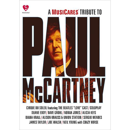 披頭四之愛-向保羅麥卡尼致敬 A MusiCares Tribute To Paul McCartney (DVD) 【Evosound 】