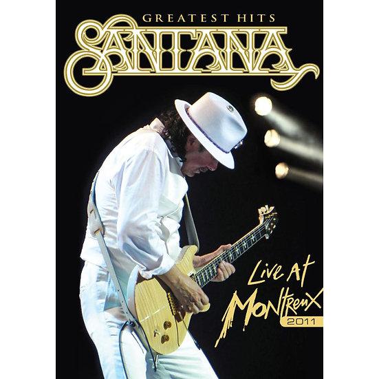 聖塔納樂團:2011年蒙特勒演唱會 Santana: Live at Montreux 2011 (2DVD) 【Evosound】