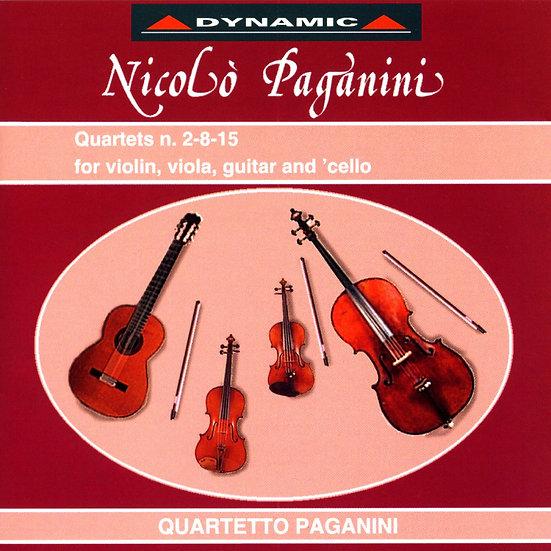 帕格尼尼:吉他四重奏3 Nicolo Paganini: Complete Quartets (Vol.3) (CD)【Dynamic】