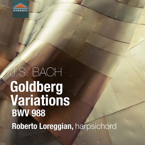 巴哈:郭德堡變奏曲 J. S. Bach: Goldberg Variations, BWV988 (CD)【Dynamic】