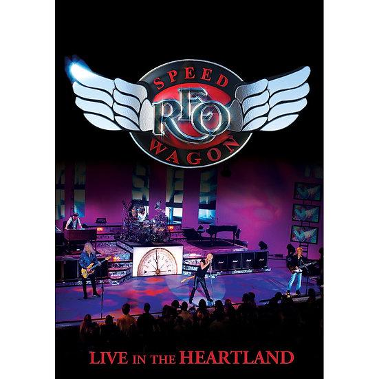 快速馬車合唱團:心臟地帶演唱會 REO Speedwagon: Live In The HEARTLAND (DVD) 【Evosound】
