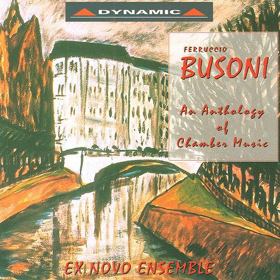 布梭尼:室內樂名曲 Ferruccio Busoni: Chamber Works (CD)【Dynamic】