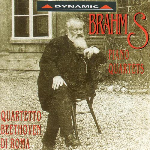布拉姆斯:鋼琴四重奏 BRAHMS: Piano Quartets (2CD)【Dynamic】