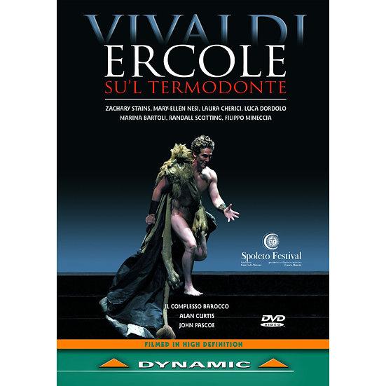 韋瓦第:歌劇《赫拉客勒斯在特摩東特》 Antonio Vivaldi: Ercole Su'l termodonte (DVD)【Dynamic】