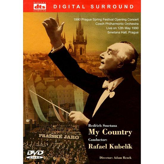 波希米亞山河戀~史麥塔納《我的祖國》Smetana: My Country (DVD)