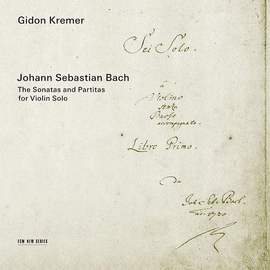 巴哈無伴奏小提琴|小提琴:基頓.克萊曼 (2CD) 【ECM】