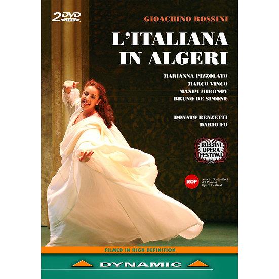 羅西尼:歌劇《在阿爾及利的義大利女郎》 Gioachino Rossini: L'italiana in Algeri (2DVD)【Dynamic】