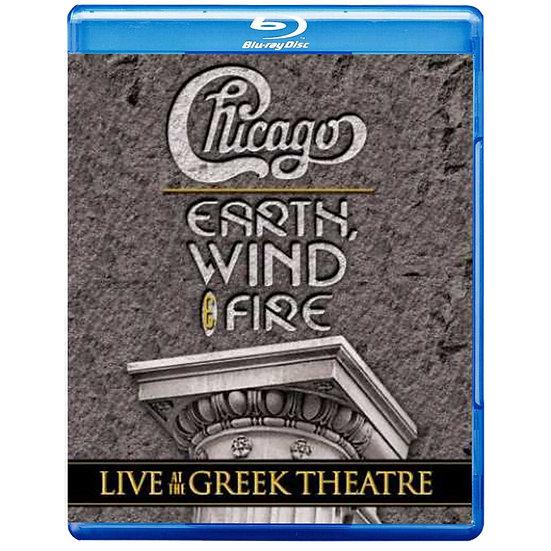 芝加哥樂團&地球風與火樂團:希臘劇院現場演唱會 (藍光Blu-ray) 【Evosound】