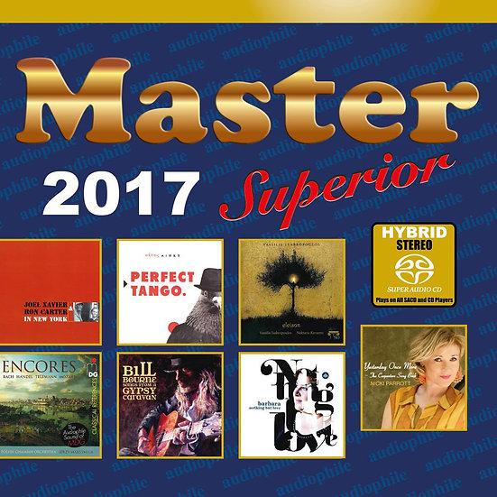 Master發燒碟2017 Master Superior Audiophile 2017 (SACD) 【Master】