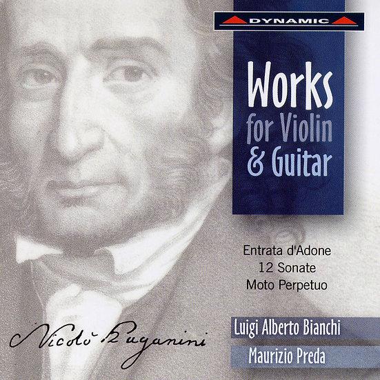 帕格尼尼:魔鬼的吉他情結II Paganini: Works For Violin And Guitar (CD)【Dynamic】