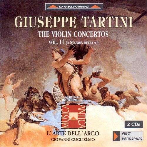 流浪小提琴家塔替尼:小提琴協奏曲全集11 Tartini: The Violin Concertos Volume 11 (2CD)【Dynamic】