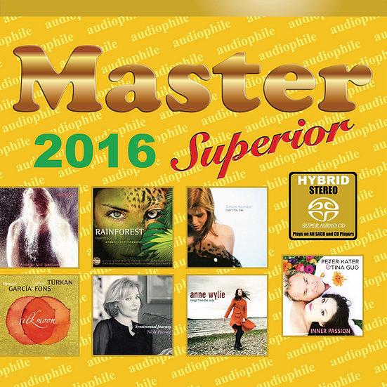 Master發燒碟2016 Master Superior Audiophile 2016 (SACD) 【Master】