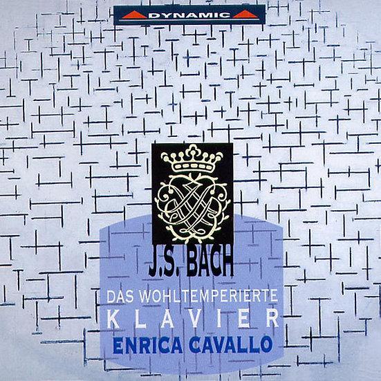 巴哈:平均律大全集 J. S. Bach: The Well-Tempered Clavier, Books 1 and 2 (4CD)【Dynamic】