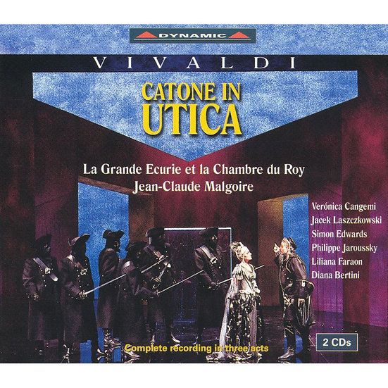 韋瓦第:歌劇《卡托尼在烏替卡》 Vivaldi: Catone in Utica (2CD)【Dynamic】