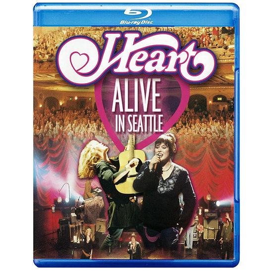 紅心合唱團:西雅圖演唱會 Heart: Alive in Seattle (藍光Blu-ray) 【Evosound】