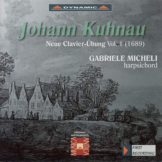 庫勞:新鍵盤練習曲 第一集 Johann Kuhnau: Neuer Clavier-Ubung, Vol. 1 (CD)【Dynamic】