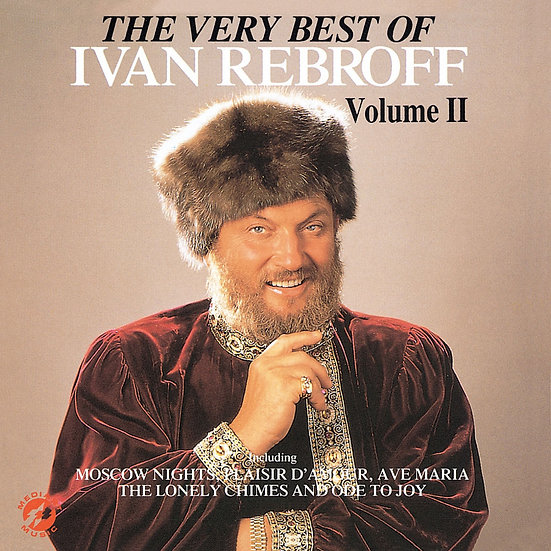 莫斯科之夜-傳奇男低音:伊凡.里波夫極品精選II The Very Best of Ivan Rebroff II (CD)