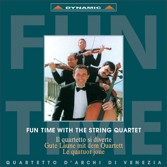 威尼斯古典四重奏:顛覆古典 Fun Time with the String Quartet (CD)【Dynamic】