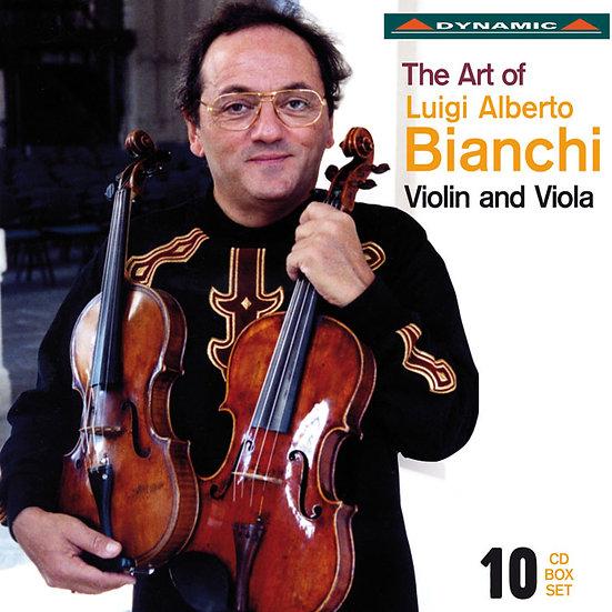 畢安奇的音樂藝術 The Art of Luigi Alberto Bianchi (10CD)【Dynamic】