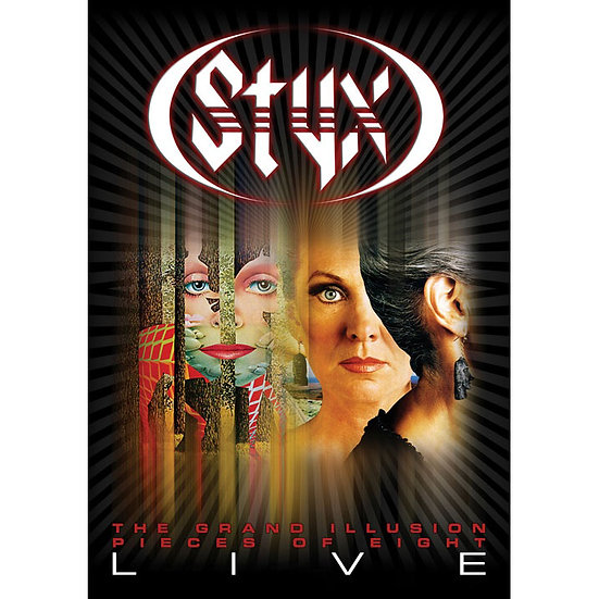 冥河合唱團:曼菲斯演現場實錄 STYX: Pieces Of 8/Grand Illusion - Live (DVD) 【Evosound】