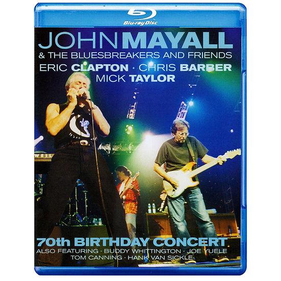 約翰梅爾:70歲慶生音樂會 (藍光Blu-ray) 【Evosound】
