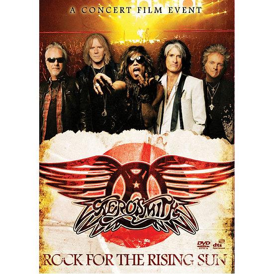 史密斯飛船:太陽升起的搖滾 Aerosmith: Rock For The Rising Sun (DVD) 【Evosound】