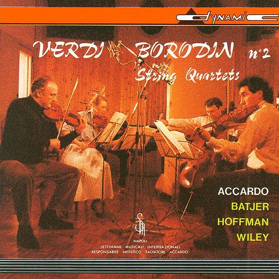 威爾第與鮑羅定:兩首弦樂四重奏 Verdi / Borodin: String Quartets (CD)【Dynamic】