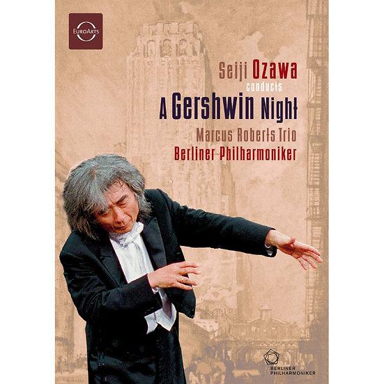 蓋西文之夜~2003溫布尼音樂會 Ozawa: A Gershwin Night (DVD)【EuroArts】