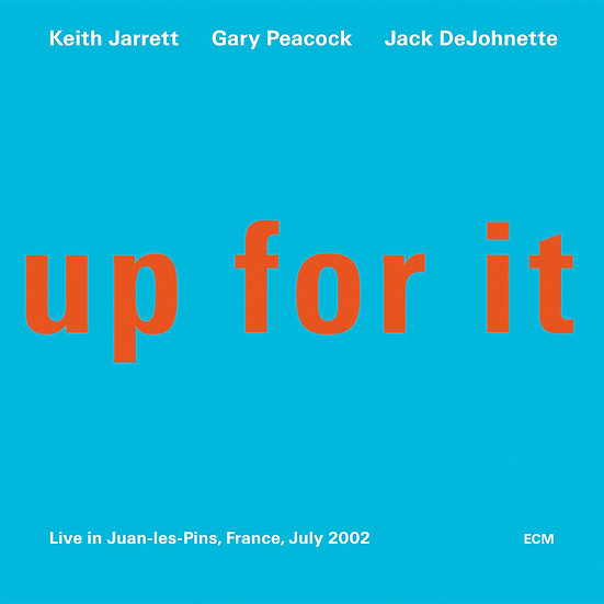 奇斯.傑瑞特三重奏 Keith Jarrett Trio: up for it (CD) 【ECM】