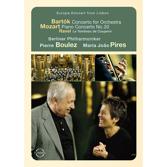 2003歐洲音樂會 在葡萄牙里斯本 Europa Konzert from Lisbon (DVD) 【EuroArts】
