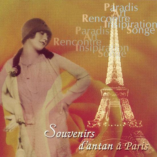 花都舊夢 V.A.: Souvenirs d'antan á Paris (CD)