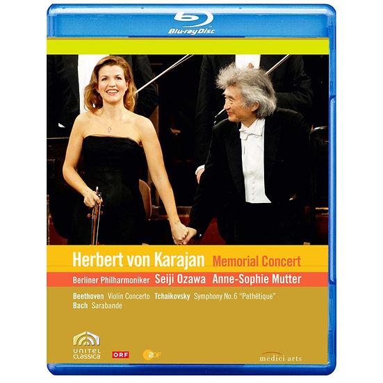 ~永遠的指揮帝王~卡拉揚100歲冥誕紀念音樂會 Karajan Memorial Concert (藍光Blu-ray) 【EuroArts】