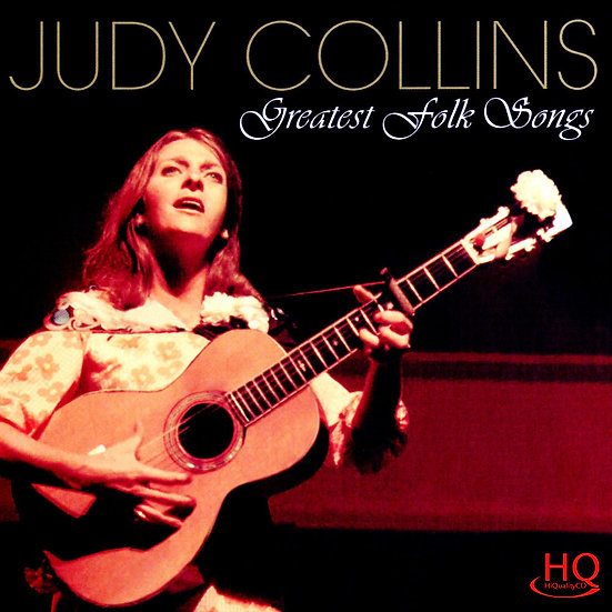 茱蒂.柯林斯:民謠經典 Judy Collins: Greatest Folk Songs (HQCD) 【Evosound】