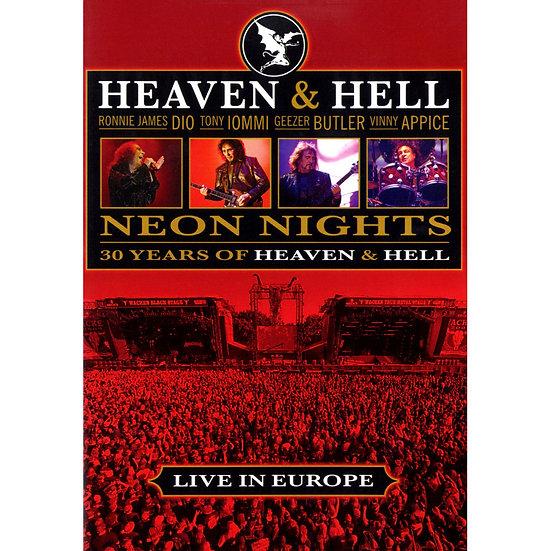 天堂與地獄:光耀黑夜 - 威肯音樂節現場 (DVD) 【Evosound】