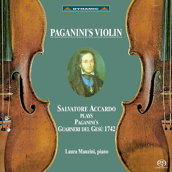 帕格尼尼 名琴加農砲 Paganini's Violin (SACD)【Dynamic】