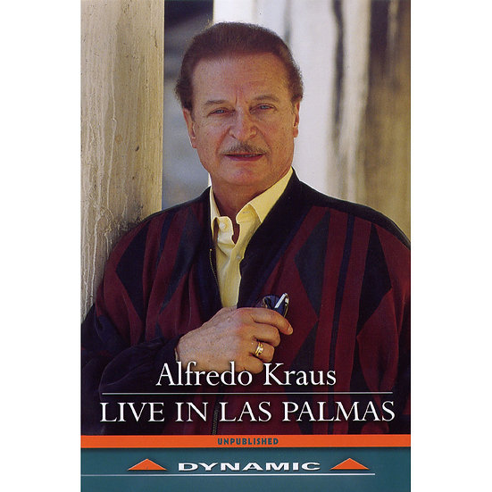 艾佛瑞多.克勞斯:拉斯帕爾馬斯現場演唱會 Alfredo Kraus: Live in Las Palmas (DVD)【Dynamic】