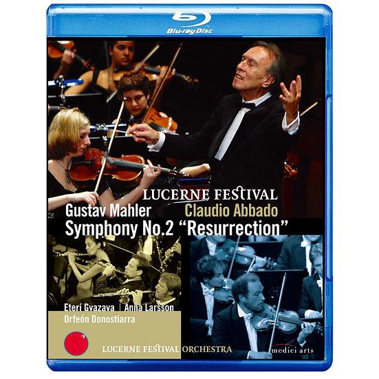 馬勒二號「復活」~阿巴多在琉森音樂節 Gustav Mahler: Symphony No.2 (藍光Blu-ray) 【EuroArts】