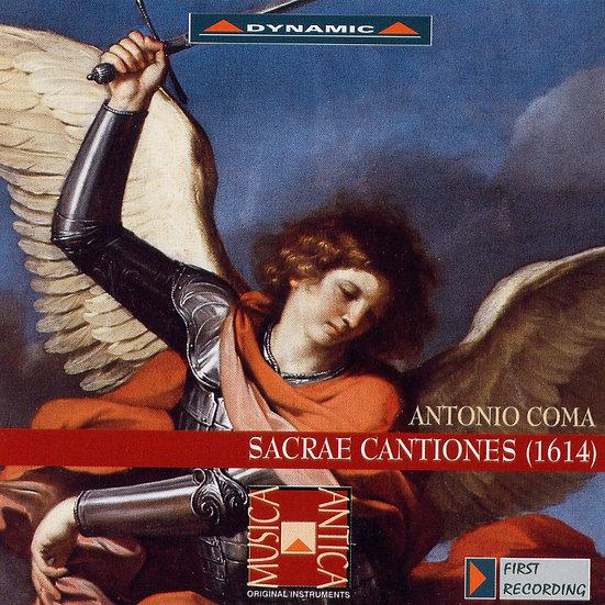 柯瑪:聖樂作品集 Coma: Sacrae Cantiones (2CD)【Dynamic】