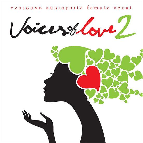 愛情萬歲!2 全球美聲歌后精選 Audiophile Female Vocals - Voices of Love 2 (CD) 【Evosound】