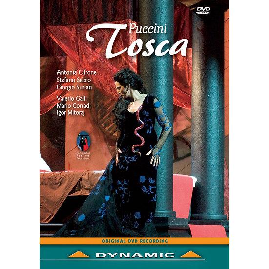 普契尼:歌劇《托斯卡》 Giacomo Puccini: Tosca (DVD)【Dynamic】