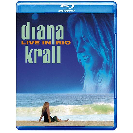 黛安娜.克瑞兒:情迷里約演唱會 Diana Krall: Live in Rio (藍光Blu-ray) 【Evosound】