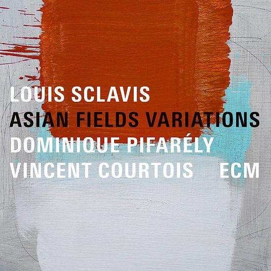 路易.史克拉維斯三重奏:亞洲田園變奏曲 Louis Sclavis Trio: Asian Field Variations (CD) 【ECM】