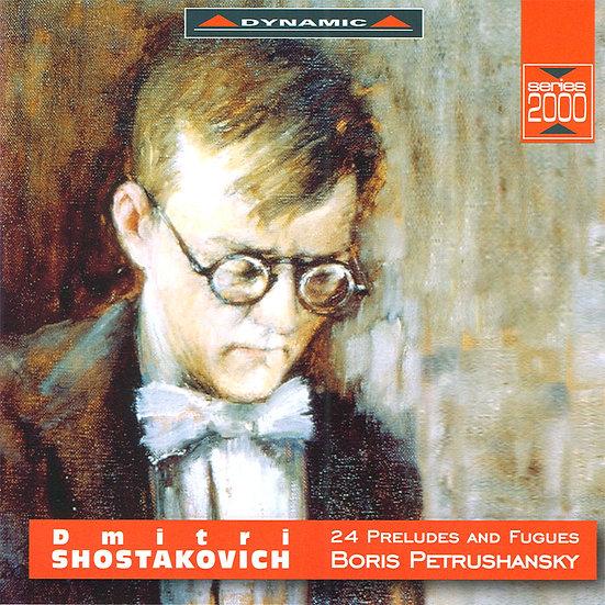 蕭士塔高維契:24首前奏曲與賦格 Shostakovich: 24 Preludes and Fugues, Op. 87 (3CD)【Dynamic】
