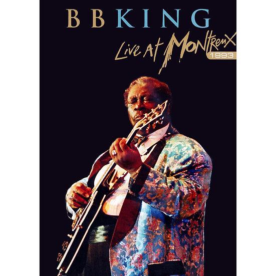 B.B. King:蒙特勒現場演唱會 B.B. King: Live at Montreux 1993 (DVD) 【Evosound】
